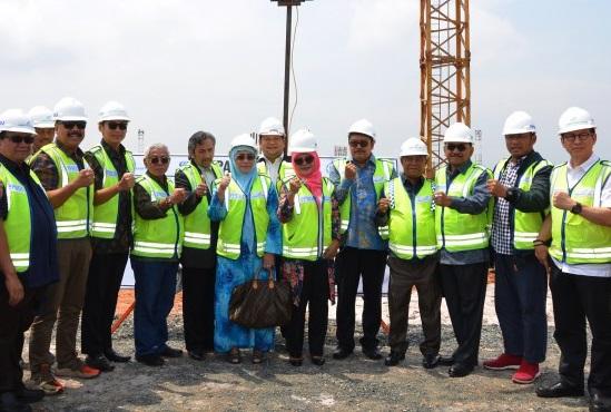 On Target, Ibnu Munzir Apresiasi Progress Pengembangan Bandara Syamsuddin Noor