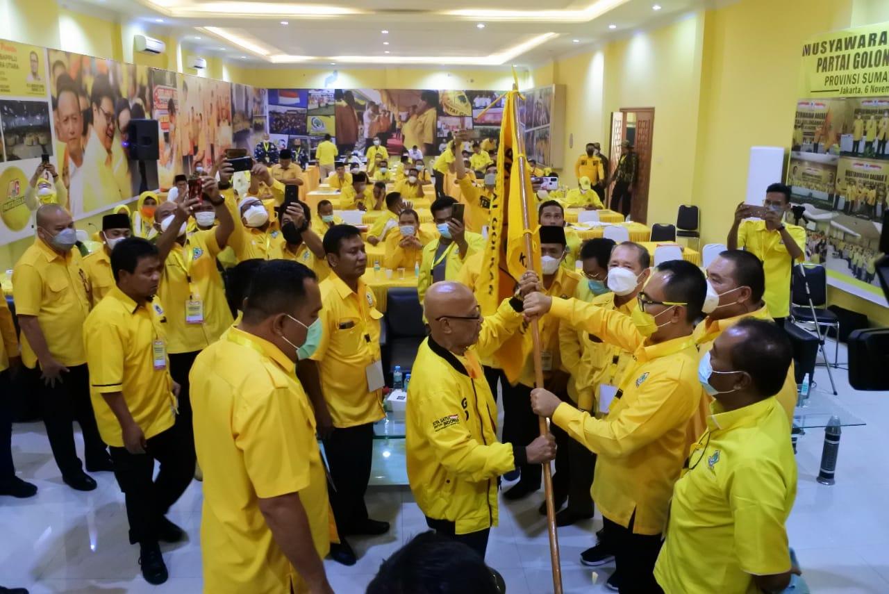 Hamdani Syahputra Terpilih Aklamasi Pimpin Golkar Deliserdang