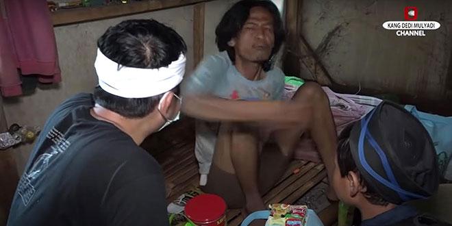 Viral! Dedi Mulyadi 2 Kali Ditampar Mang Iwan, Orang Dengan Gangguan Jiwa Yang Ngamuk