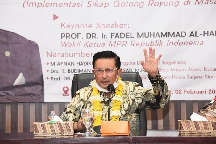 Sindir Timor Timur Lepas Dari NKRI, Fadel Muhammad Tak Ingin Terulang Lagi Pada Aceh dan Papua