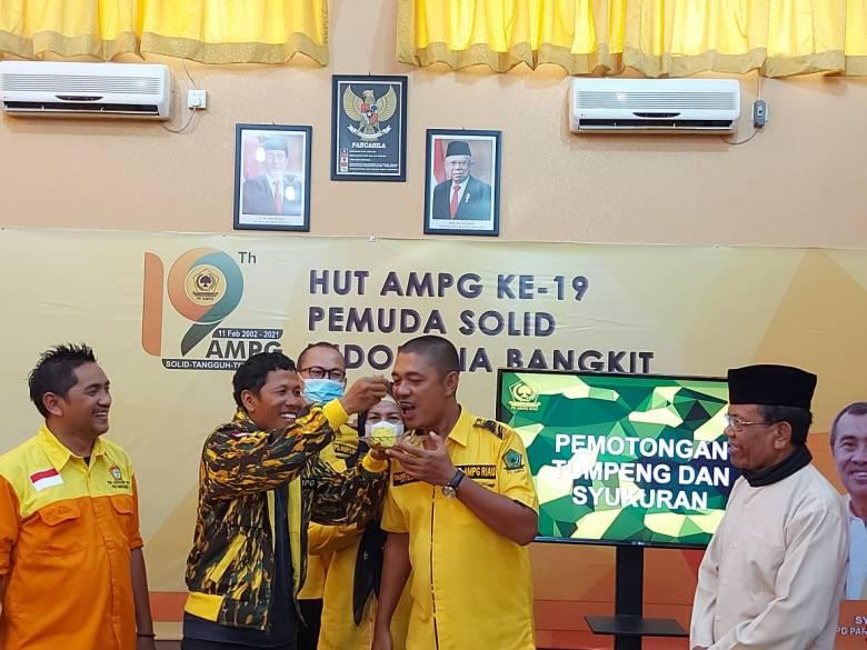 Rayakan HUT Ke-19, Taufiq Erman: AMPG Dapat Diandalkan Tingkatkan Elektabilitas Golkar di Riau