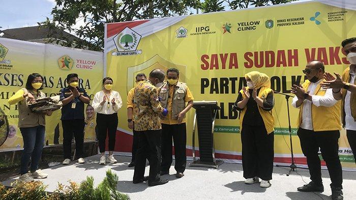 Launching Yellow Clinic Golkar Kalbar, Grace Pabayo: Aksi Nyata Lebih Berharga Dari Narasi Kosong