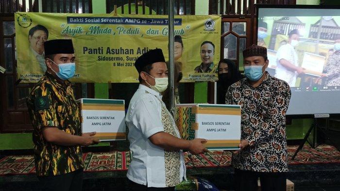 Galakkan Peduli Kemanusiaan Saat Pandemi, AMPG Jatim Gelar Baksos Serentak
