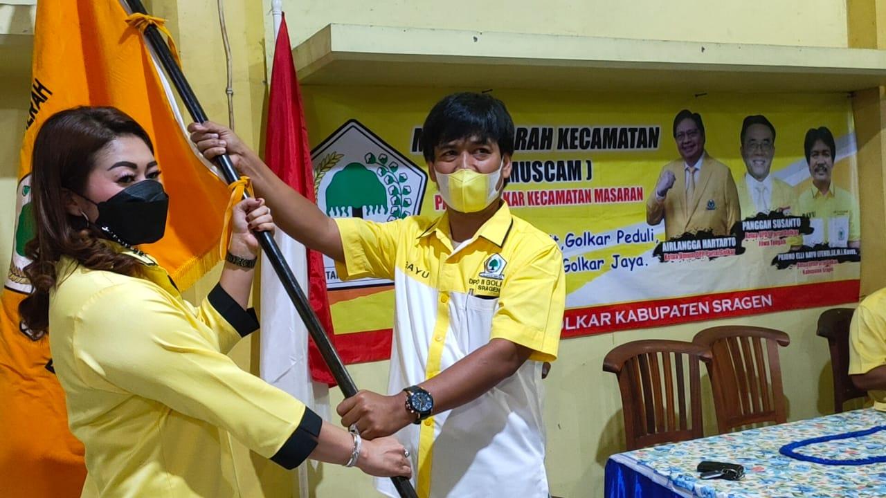 Kebut Muscam di 20 Kecamatan, Golkar Sragen Dorong Ketua PK Dipilih Aklamasi dan Musyawarah