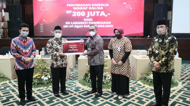 Sahat Tua Simanjuntak Ikut Kampanyekan Gerakan Wakaf Peduli Indonesia