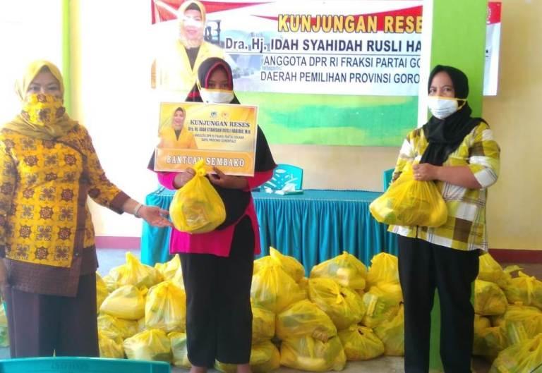Fokus Bantu Warga Gorontalo, Idah Syahidah Enggan Bicara Politik di Masa Sulit