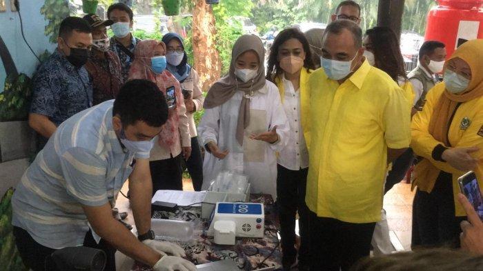 Tekan Kasus COVID-19, Golkar Jakarta Selatan Gelar Tes Genose dan Swab Antigen Massal