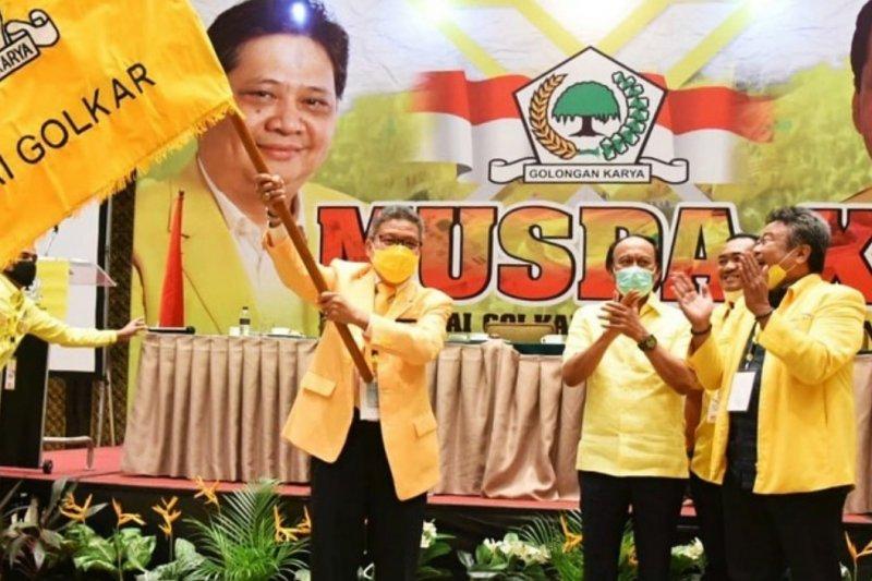 Taufan Pawe Ajak Seluruh Kader Golkar Menyatu dan Jaga Soliditas Jelang Pilkada se-Sulsel