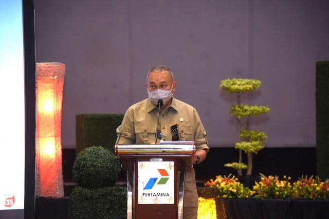 Jaga Ketersediaan BBM DKI Jakarta, Alex Noerdin Minta Pertamina Dukung Penuh Peran RU VI Balongan
