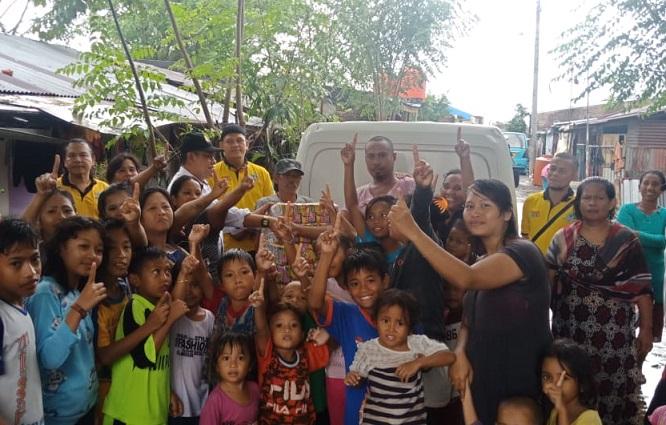 Bantuan Kemanusiaan Hamka Baco Kady di Makassar dan Jeneponto