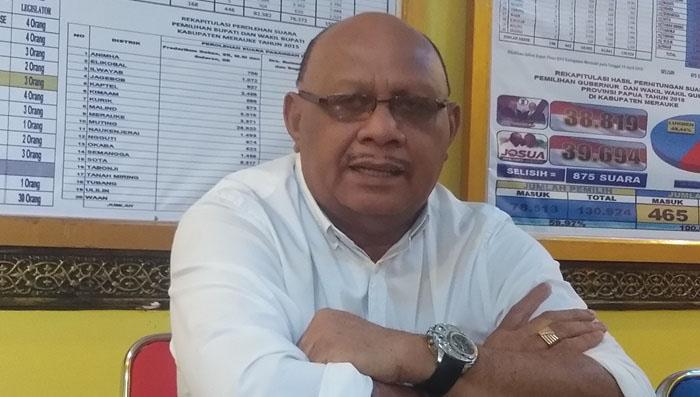 Herman Anitu Basik Basik-Sularso Gugur Karena Ijazah SMA, Empat Kursi Golkar Merauke Hangus