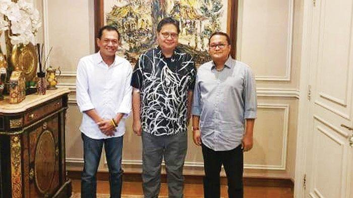 Ketum Airlangga Restui Hendra Apollo Pimpin Kembali Golkar Bangka Belitung