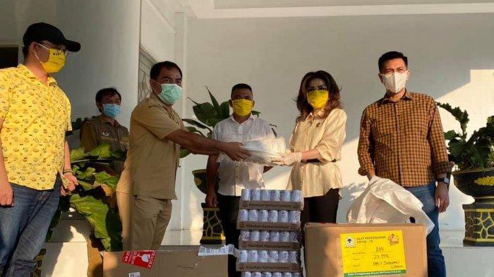 Tetty Paruntu Minta Kader Golkar se-Sulut Kawal Penyediaan Anggaran Penanganan COVID-19