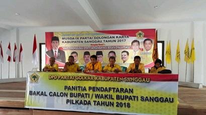 Golkar Sanggau Buka Pendaftaran Calon Bupati dan Wakil Bupati. Minat?