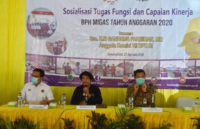 Sosialisasi BPH Migas, Gandung Pardiman Harap Subsidi Migas Untuk Rakyat Kecil Tepat Sasaran