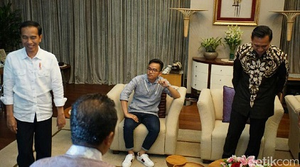 Ace Hasan Sebut Pertemuan AHY-Jokowi Cairkan Komunikasi Dengan SBY