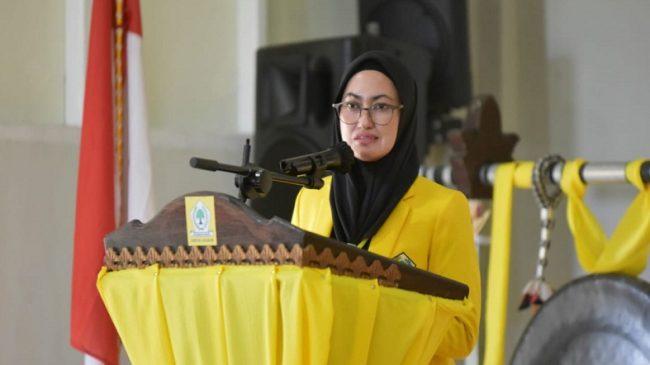 Indah Putri Indriani Terpilih Aklamasi Pimpin Golkar Luwu Utara