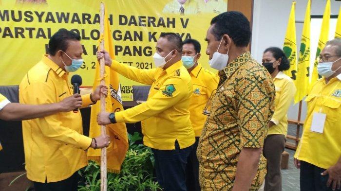 Mantan Walikota Jonas Salean Terpilih Aklamasi Pimpin Golkar Kota Kupang