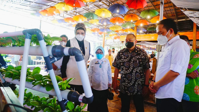Ajak Milenial Bertani, Alex Noerdin Jadi Inisiator Bakti Inovasi BPPT di Kota Palembang