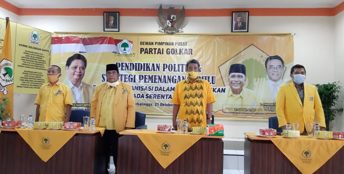 Iqbal Wibisono Ingatkan Kader Golkar Purbalingga Terapkan Panca Sukses