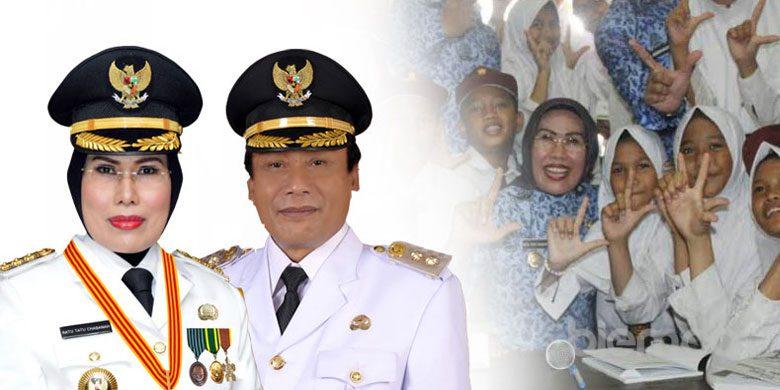 Pilbup Serang 2020, Pandji Tirtayasa Ingin Terus Dampingi Ratu Tatu Chasanah