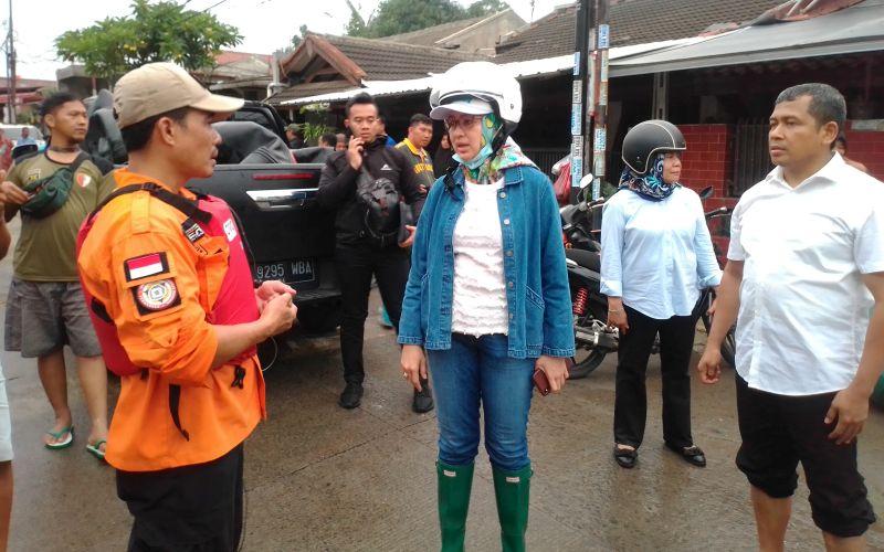4 Orang Tewas di Tangsel, Airin Rachmi Diany Tetapkan 14 Hari Masa Tanggap Darurat Banjir
