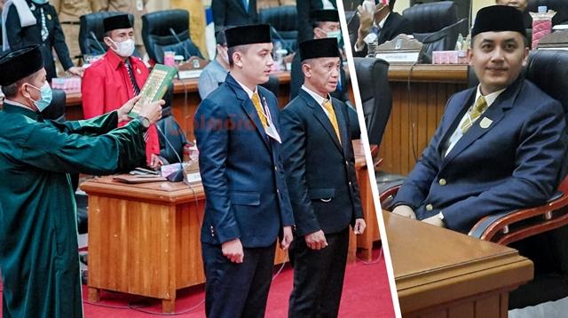 PAW Almarhum Martin Tangkere, Dyas Potabuga Resmi Dilantik Jadi Anggota DPRD Bolmong