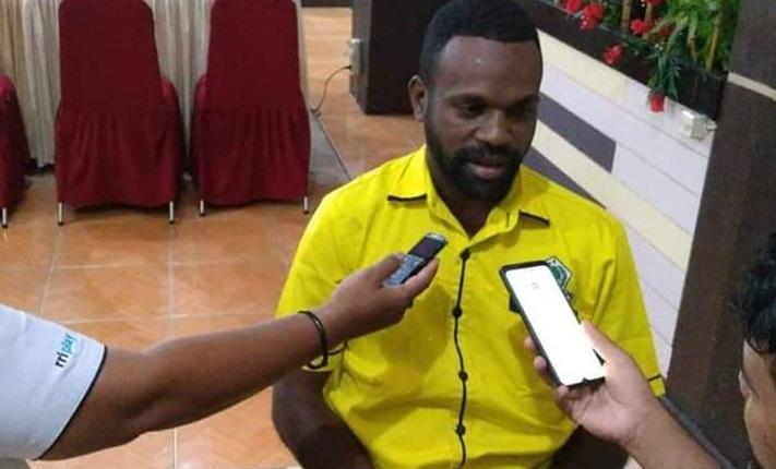 Lamek Dowansiba Minta DPP Golkar Jeli Tentukan Kader Yang Diusung di Pilkada se-Papua Barat