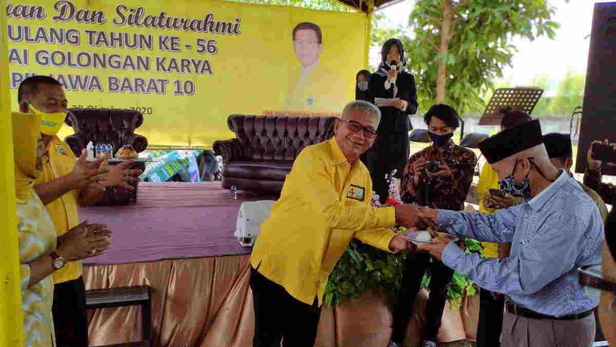 HUT Ke-56, Agun Gunandjar Konsolidasikan Golkar Banjar dan Ciamis Dalam Forum Silaturahmi