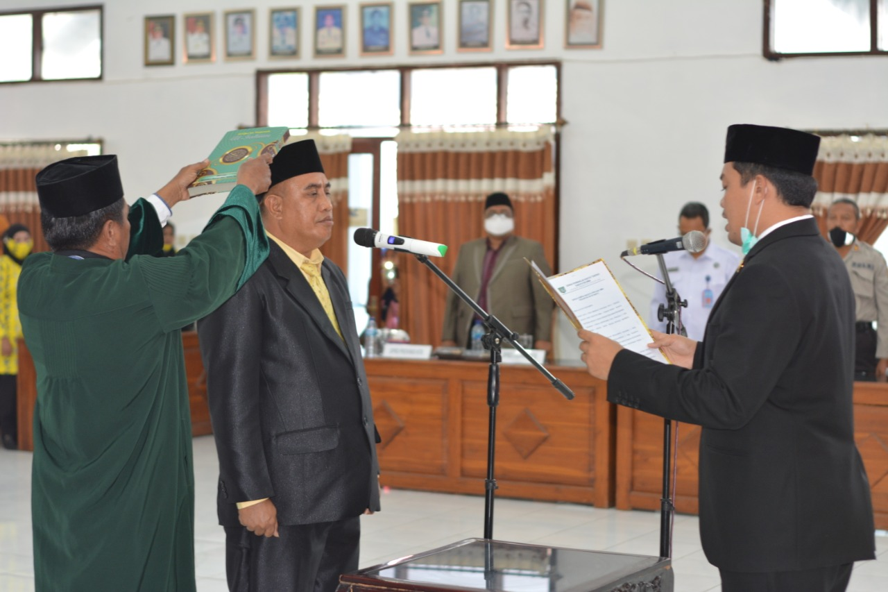 Muhammad Sidik Resmi Dilantik Jadi Anggota DPRD Bima Gantikan Almarhum Muhammad Ibrahim