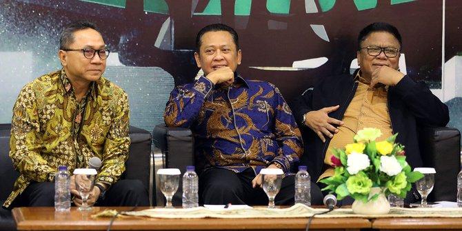 Indra Bambang Utoyo Bantah FKPPI Dukung Bambang Soesatyo Jadi Ketum Golkar