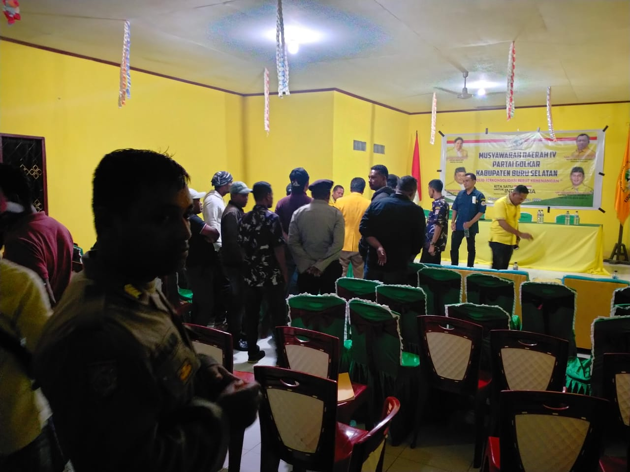 Nyaris Rusuh, Musda Golkar Buru Selatan Dipindahkan ke Kota Ambon