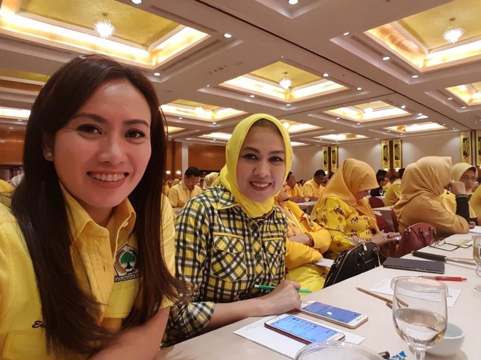 Hamka B. Kady dan Ernawati Tahang Berpotensi Jadi Wakil Golkar Dari Sulsel I