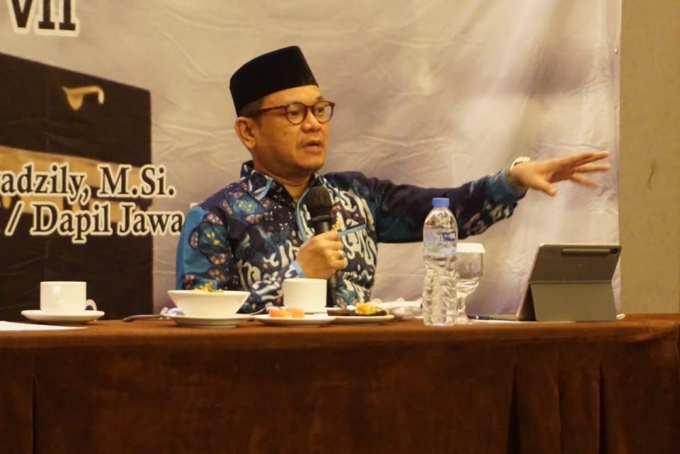Sosialisasi UU Haji dan Umrah, Ace Hasan Pastikan Jamaah Disabilitas Dapat Perhatian Khusus