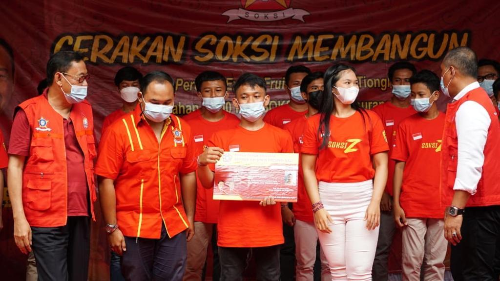 Gandeng Milenial Jadi Ujung Tombak Ekonomi Bangsa, Soksi Generasi Z Dideklarasikan di Bali