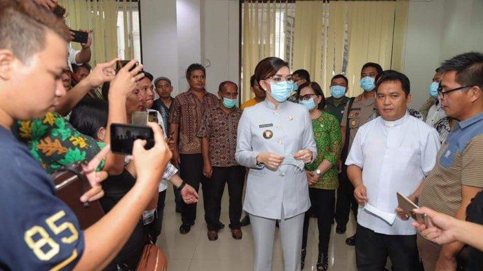 Perangi Virus Corona, Tetty Paruntu Siapkan Anggaran Rp.2,3 Miliar