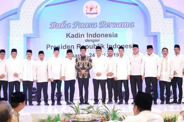 Wakili KADIN Sumsel, Dodi Reza Ucapkan Selamat Terpilihnya Kembali Jokowi