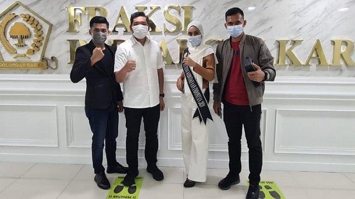 Ilham Pangestu Dukung Dinda dan Irwandi Perkenalkan Budaya Aceh ke Mancanegara