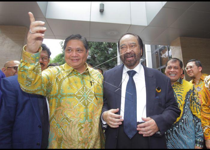 Dua Menteri Golkar Ikut Pertemuan Dengan Nasdem, Ini Pembelaan Ace Hasan