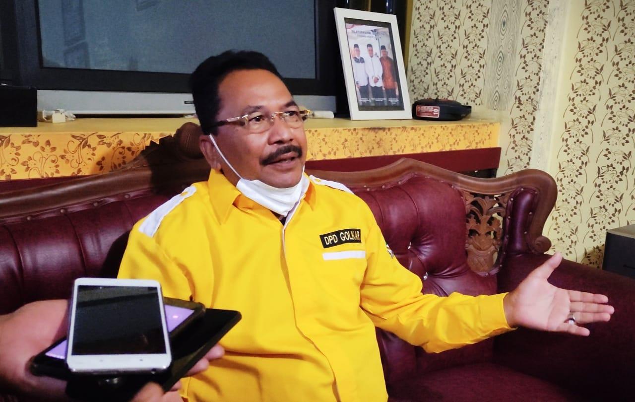 Hadapi Putusan MK Terkait Pemungutan Suara Ulang di 7 Kecamatan, Golkar Kalsel Rapatkan Barisan