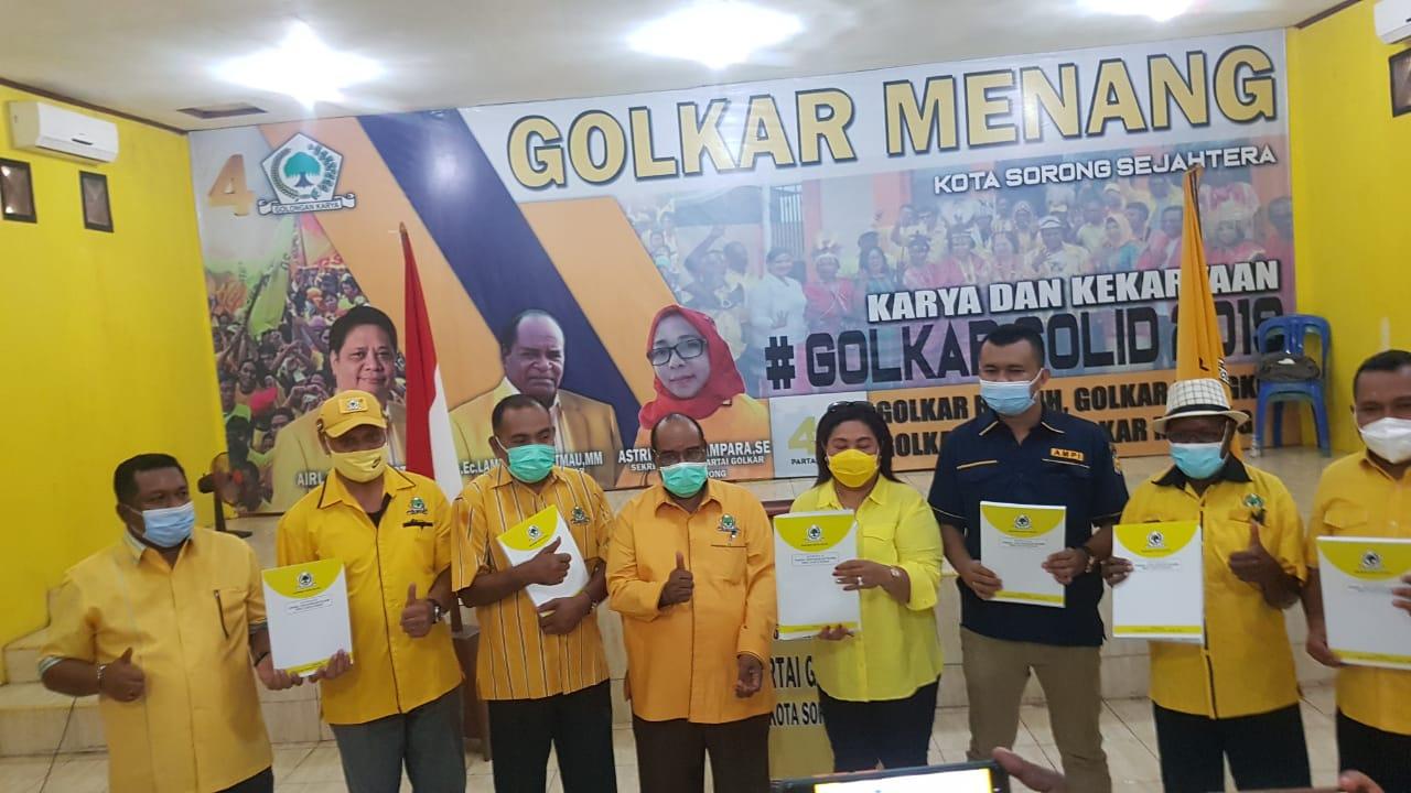 Mahkamah Partai Batalkan Musda, Kader Golkar Papua Barat Apresiasi dan Dukung Airlangga Capres 2024