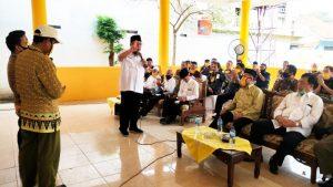 Tony Eka Candra Gelar Silaturahmi Bersama Umat Kristiani dan Para Pedagang Pasar Kalianda