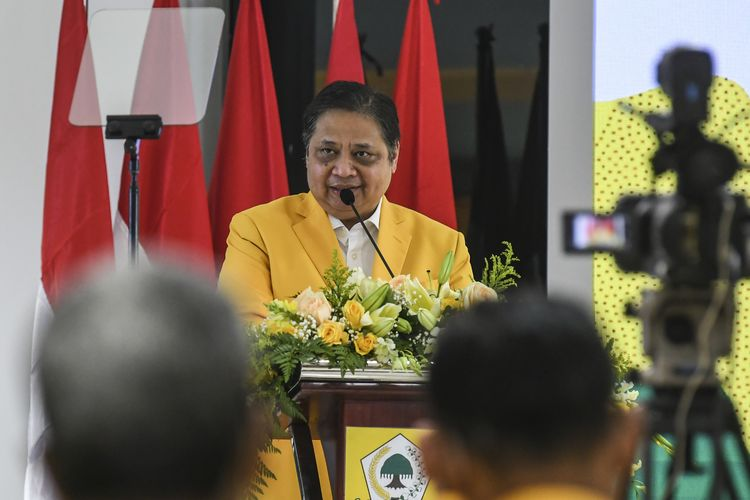 Ditanya Soal Kasus Azis Syamsuddin, Ini Tanggapan Airlangga Hartarto