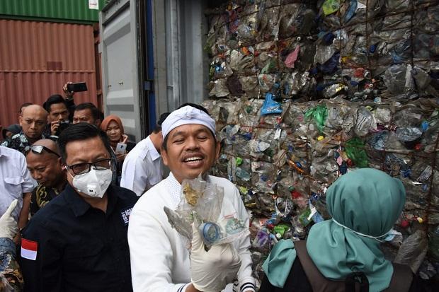 Dedi Mulyadi Desak Pemerintah Segera Pulangkan Sampah Impor ke Amerika Serikat