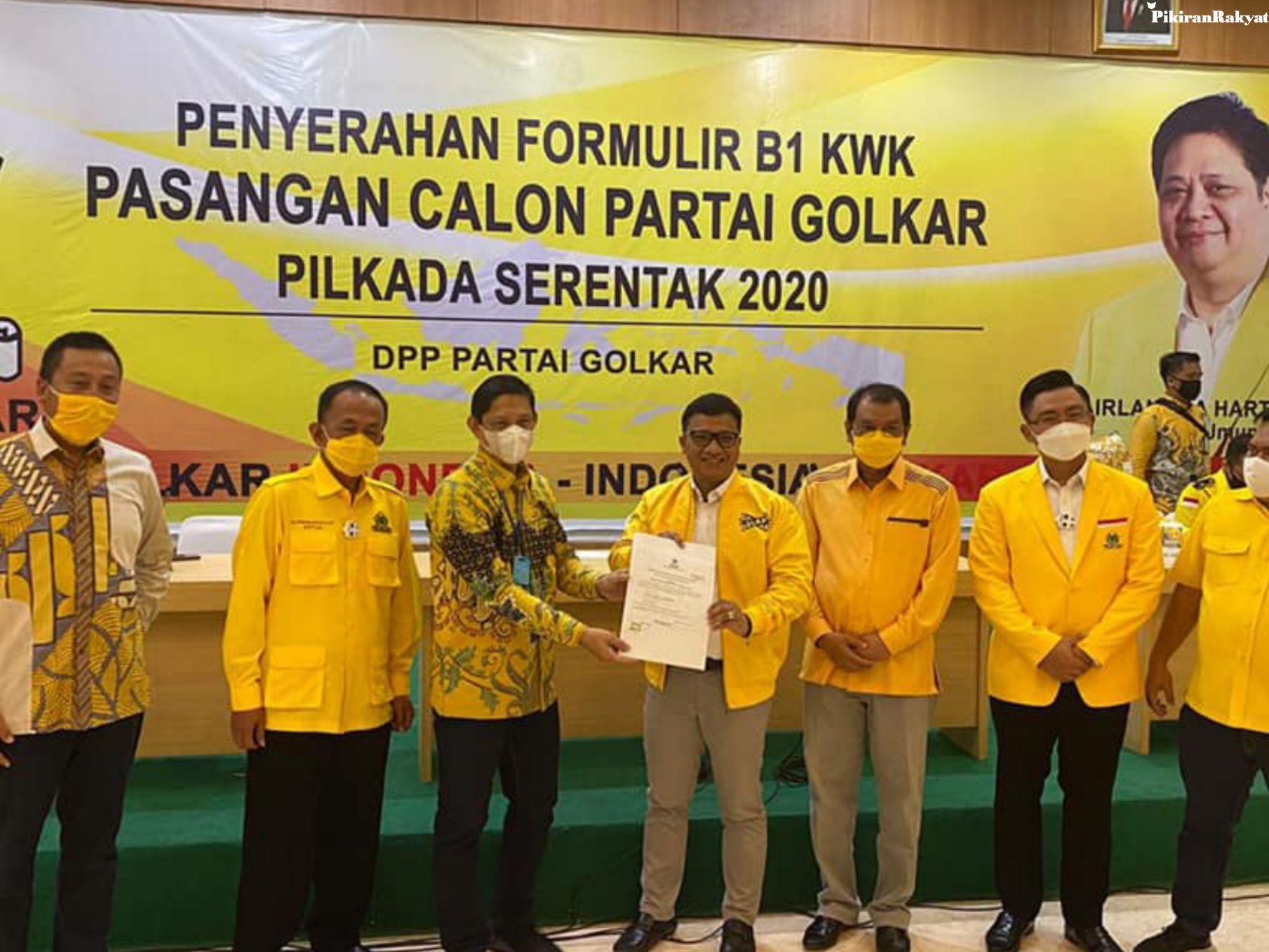 Kantongin Rekomendasi Golkar, Daniel Mutaqien-Taufik Hidayat Segera Daftar ke KPU Indramayu