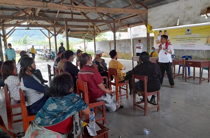Kader Golkar Dolok Silou Siap Menangkan Radiapoh-Zonny di Pilkada Simalungun