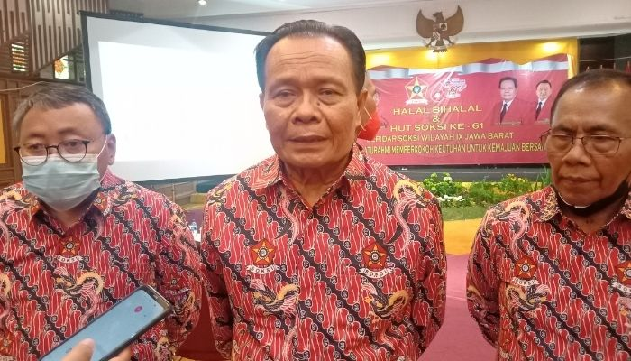 Yod Mintaraga Tegaskan SOKSI Jabar Siap All Out Menangkan Airlangga Jadi Presiden 2024