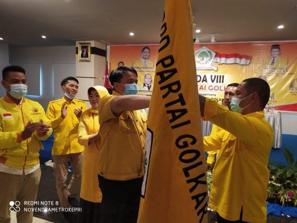 Calon Tunggal, Untung Budiawan Terpilih Aklamasi Pimpin Golkar Tanjungpinang 2020