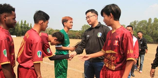 Majukan Sepakbola Banten, Andika Hazrumy Resmikan Serang Super League 2019