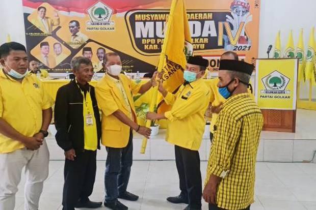 Yaumil Ambo Djiwa Terpilih Kembali Pimpin Golkar Kabupaten Pasangkayu
